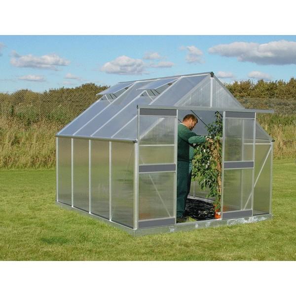 Serre en polycarbonate basic 820 - Chassis de jardin en polycarbonate ...