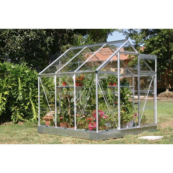 Serre de jardin acd colonial 3 7 m serre en polycarbonate - Chassis de jardin en polycarbonate ...