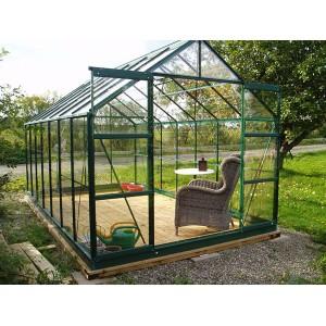 Serre de jardin en verre 8,88 m²