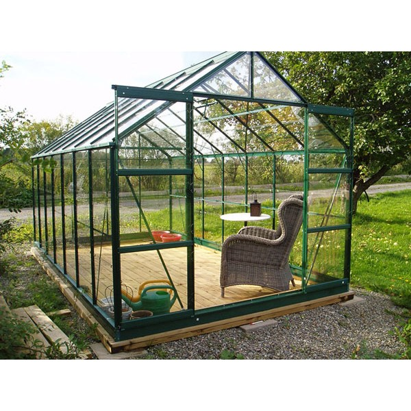 serre de jardin en verre 8 88 m. Black Bedroom Furniture Sets. Home Design Ideas