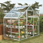 Serre de jardin serre de jardin tunnel serre chassis - Chassis de jardin en polycarbonate ...